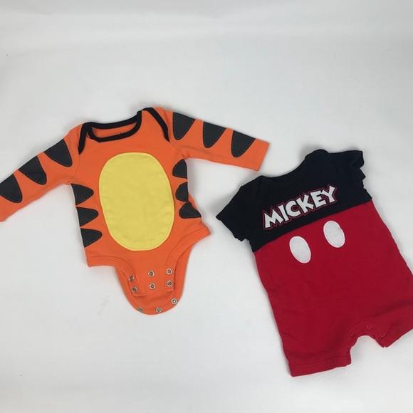 Disney Other - Disney baby one pieces mickey   tigger 0-3 months fa30e2e9e